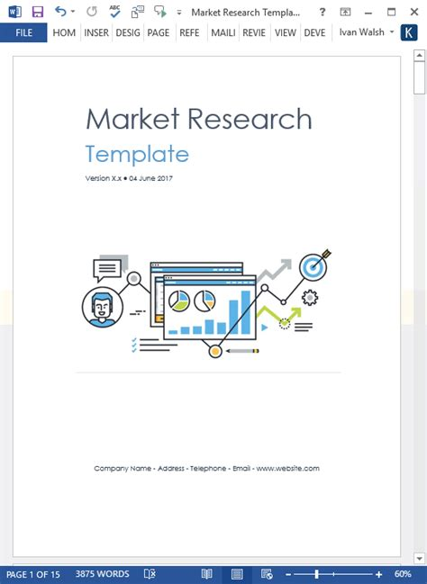 market research templates 10 word 2 excel