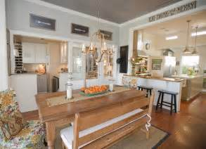 Interior Decorating Ideas Kitchen ceiling can effectively create farmhouse atmosphere inside a kitchen