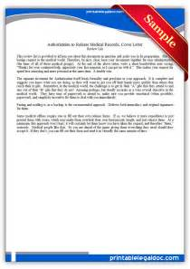 request for records cover letter free printable authorization to release records