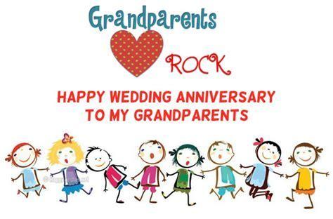 Anniversary Wishes For Grandparents From Grandchildren