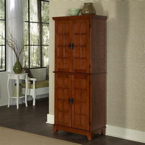 www homestyles com home styles arts and crafts cottage oak food pantry 5180