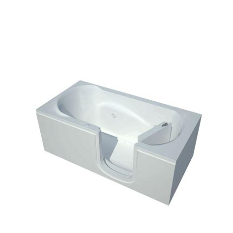 5 ft jacuzzi bathtub universal tubs 5 ft right drain step in whirlpool bath