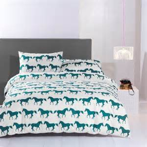 King Size Bedding With Horses Anorak Horses King Size Duvet Set