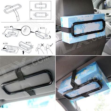 Tempat Tissue Mobil Visor Storage Holder Tissue Organizer Bag Visor fashion car visor tissue paper plastic box holder for back seat black free shipping