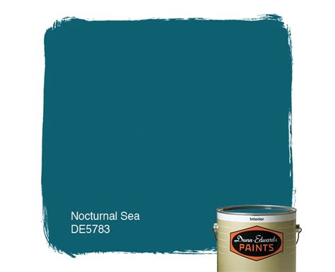 nocturnal sea de5783 dunn edwards paints