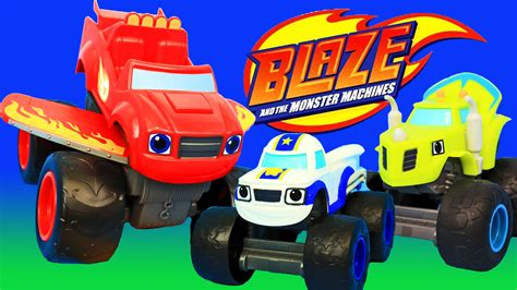 New Blaze And The Monster Machines Toys Nickelodeon Blaze Truck