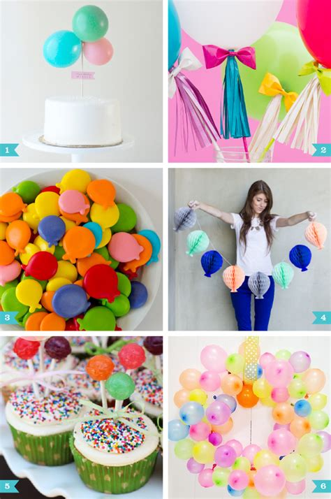 balloon decorations birthday party party favors ideas balloon party ideas chickabug