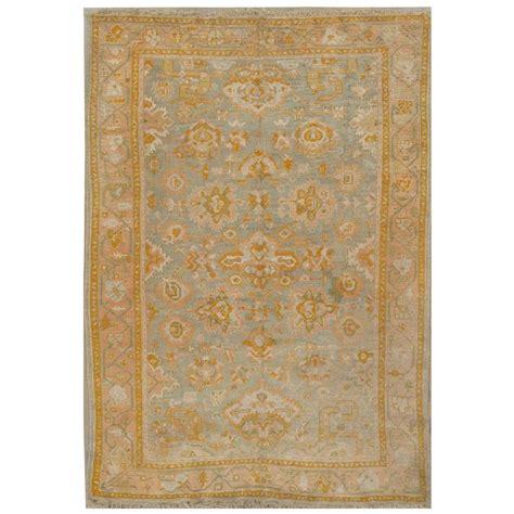 furniture rugs sale antique turkish oushak rug for sale at 1stdibs