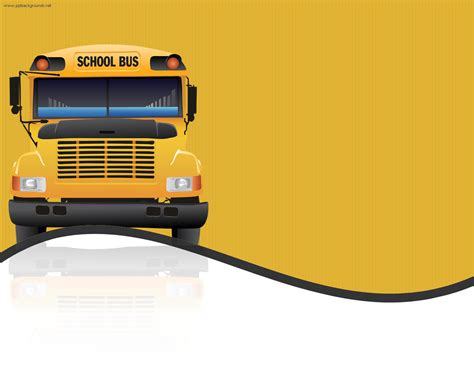 powerpoint templates free transportation school bus wallpaper wallpapersafari