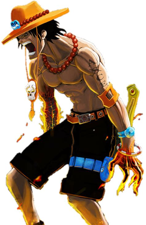ace from one piece hurt like no other tattoos pinterest portgas d ace render by kushikimotoamvs on deviantart