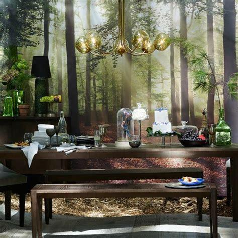 table de tapisserie papier peint trompe l oeil pour chambre 1 tapisserie