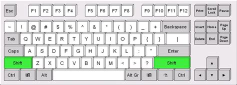 qwerty type keyboard layout us en qwerty keyboard layout