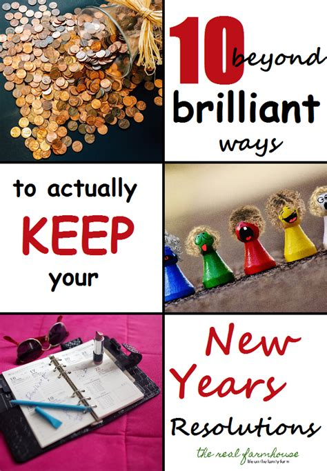 8 Ways To Keep Your New Years Resolutions by 10 Brilliant Ways To Actually Keep Your New Years