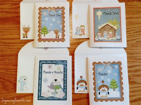 free printable winter note cards free printable thank you note cards free homeschool deals