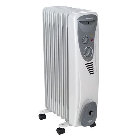 house heater 1 500 watt electric oil filled radiant portable heater ho