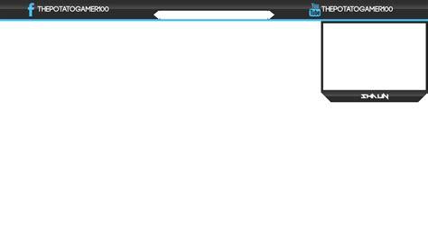 stream layout maker thepotatogamer100 streaming overlay for skyrim by
