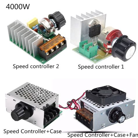 Dimming Dimmer Speed Ac 200v 2000w Scr 200v 4000w Scr Dimmer Speed Controller Temperature Voltage