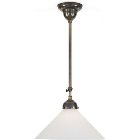 Period Ceiling Lights Period Pendant Lighting Large Edison Replica Period Pendant Light Polished Nickel 1900 2 P N
