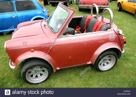 mini shorty for sale customized mini cooper motor car mini shorty stock photo