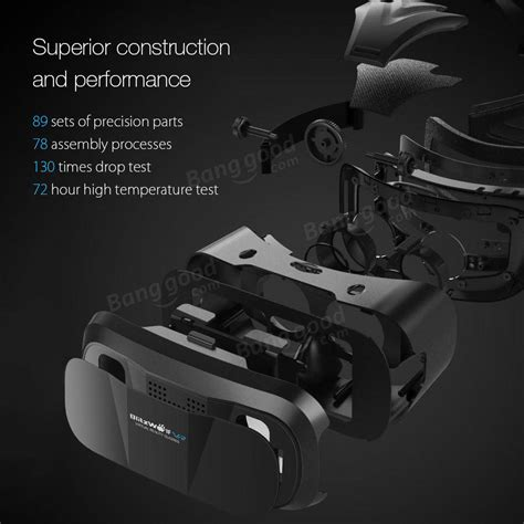 Vr Blitzwolf blitzwolf 174 bw vr3 3d vr glasses reality headset for iphone 8 8 plus iphone x xiaomi