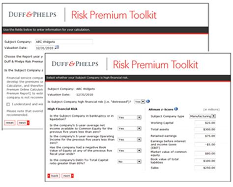 The Handbook Of Business Valuation And Intellectual Property Analysis valuation handbook risk premium toolkit includes 2017