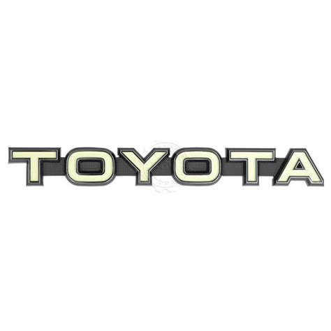 logo toyota land cruiser oem make grille nameplate emblem badge for toyota fj40
