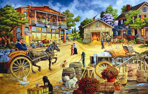 A Frame House For Sale the 21st street general store 1000 piece puzzle joseph