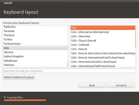 detect keyboard layout in javascript which keyboard layout do i choose on installation ask ubuntu