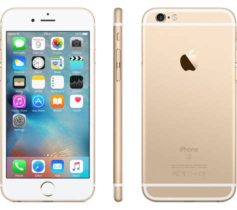 buy apple iphone 6s 32 gb gold free delivery currys