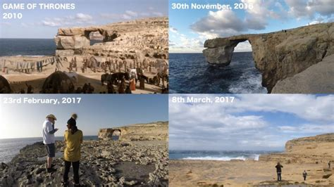 malta s azure window has collapsed great big scary world