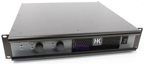 Power Lifier 600 Watt hk audio vx1200 2 x 600 watt power lifier whybuynew