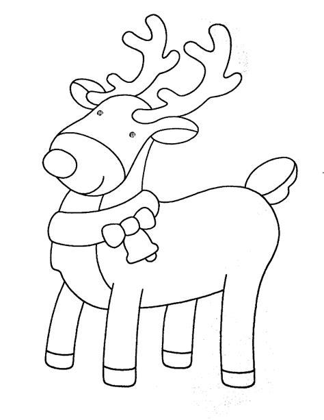 imagenes de navidad para colorear renos dibujos renos navidad dibujos renos navidad gratis para