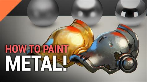 how is paint for how to paint metal in photoshop
