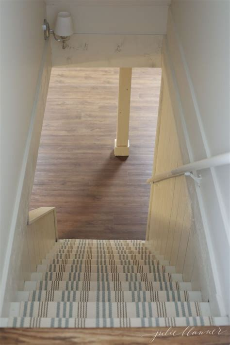 How to Redo Basement Stairs on a Budget   Basement stair