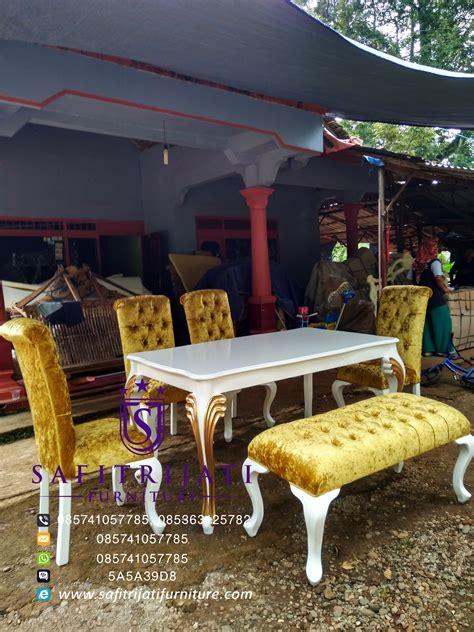 Meja Makan Hello meja makan minimalis shabby chic safitri jati furniture