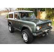 1968 Ford Bronco  Information And Photos MOMENTcar
