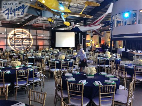 aviation themed events venue museum of flying
