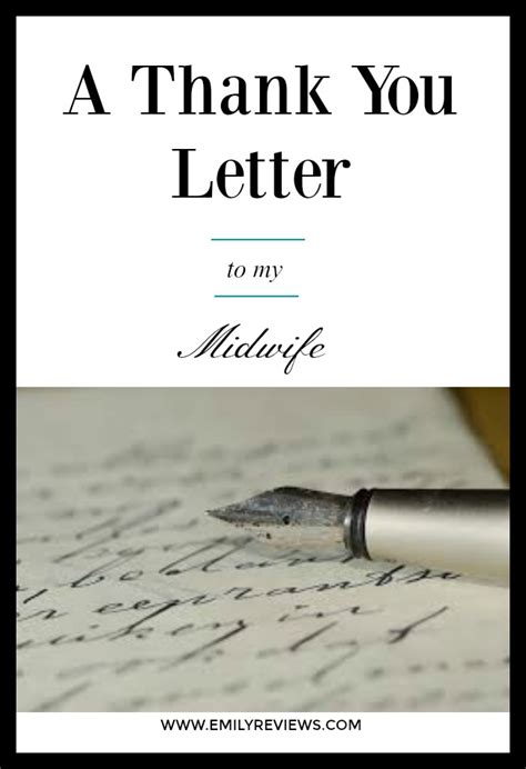 thank you letter to my eye doctor a thank you letter to my midwife emily reviews