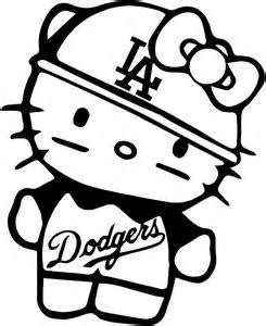 hello kitty logo coloring pages dodgers baseball logo coloring page coloring pages sew