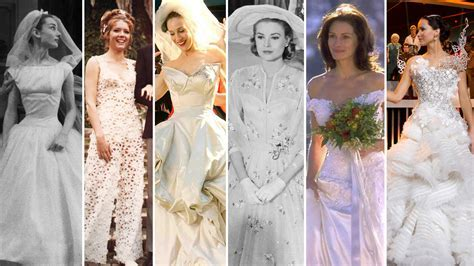 The Most Iconic Movie Wedding Dresses of All Time   Martha