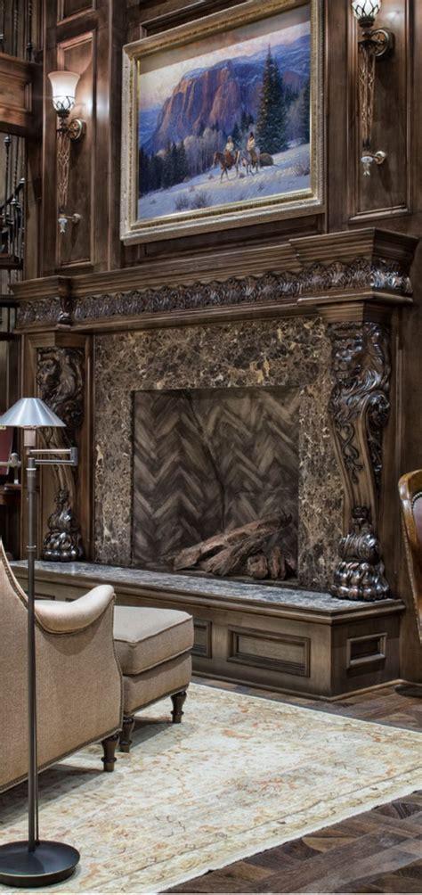 pin  kimberley kussmann  fireplace   tuscan
