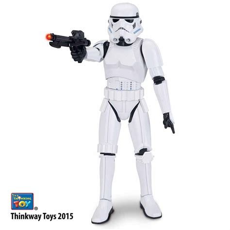 Figure Wars Stromtrooper thinkway toys new wars animatronic interactive