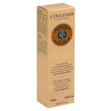 L Occitane Shea Butter 5 2 Oz l occitane shea butter foot skin by for unisex