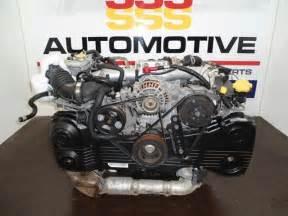 Subaru Ej Engine Subaru Ej20 Turbo Forrester Engine Sssautomotive Shop033