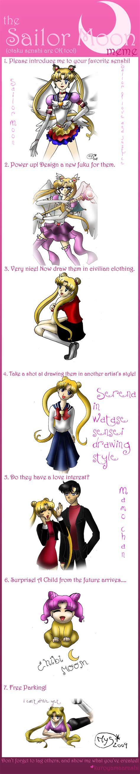 Sailor Moon Meme - sailor moon meme by miakayuki1 on deviantart