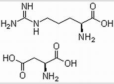 CAS No.7675-83-4,L-Arginine L-aspartate Suppliers L Arginine Structure