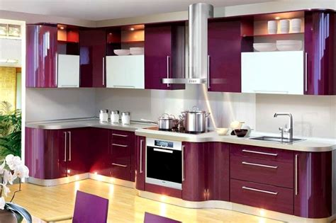 Kitchen Design Ideas 2017 Interior Design Trends 2017 Purple Kitchen