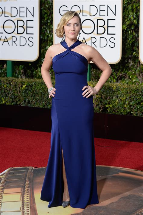 Kate Winslet At The Golden Globes by Kate Winslet Photos Vogue