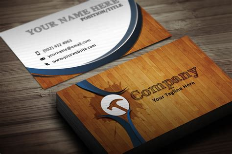 handyman business card template handyman business card templates free printable