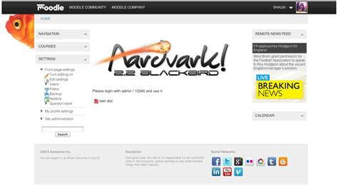 moodlerooms themes aardvark blackbird 2 2 theme is now available moodle news